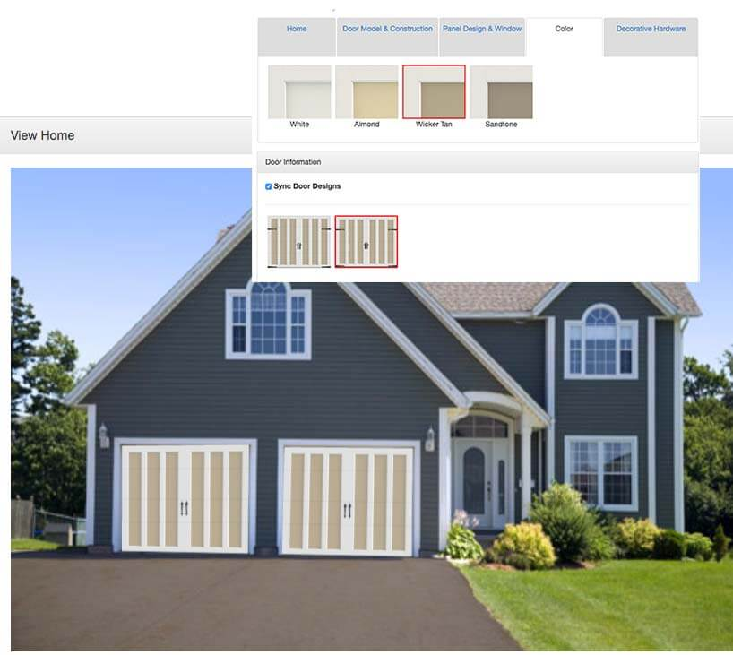 design your garage door anderson garage doors